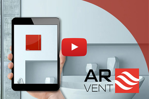 AR VENT - Εφαρμογή για iOS και Android