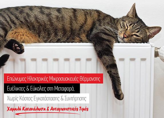 Επώνυμες Ηλεκτρικές Μικροσυσκευές Θέρμανσης